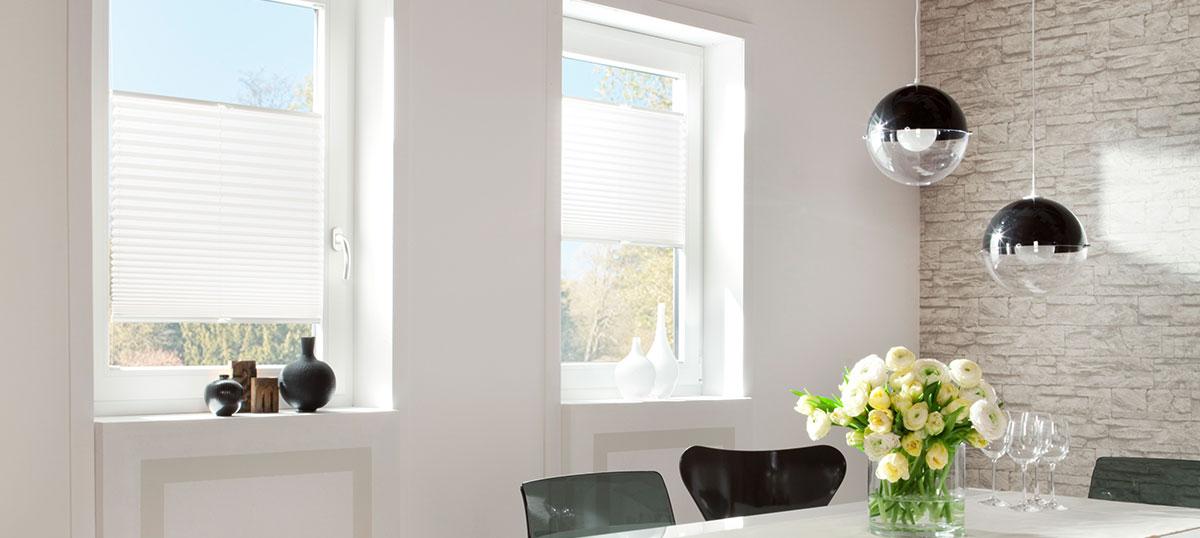 plissee onlineshop schweiz g nstige qualit t nach mass. Black Bedroom Furniture Sets. Home Design Ideas